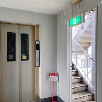 お部屋まではエレベーター。ワンフロア1居室が嬉しい◯