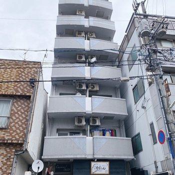 1階は飲食店でした。