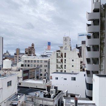 6階なので眺望はあまり気にならないかな。