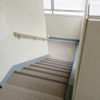 2階だから、階段での昇り降りも楽々♪