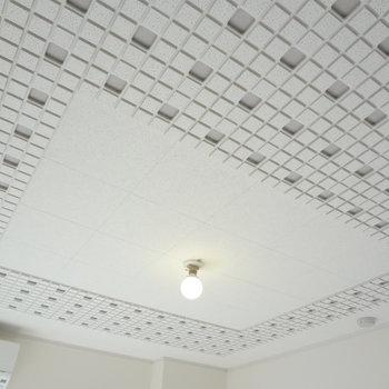 天井にご注目!!こんなところまでかわいいの!(※写真は9階同間取り別部屋のものです)