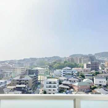 眺望がとってもいい・・・!どんな景色を見せてくれるか、毎日楽しみだ!