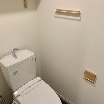 トイレも新品です◎小物もかわいい!