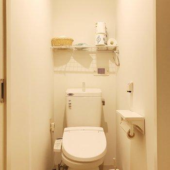 トイレも2つあります