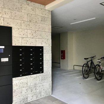宅配ボックス付き◯駐輪場もありますよ