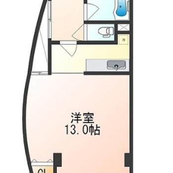 広々とした洋室〜。