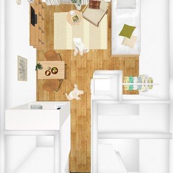家具配置イメージ