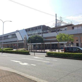 お部屋のあるほうは姪浜駅北口です。