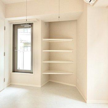 お部屋の凹凸を上手に使っています!※写真は2階の同間取り別部屋のものです