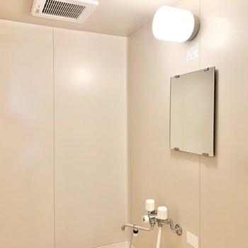 鏡はちゃんと付いています。