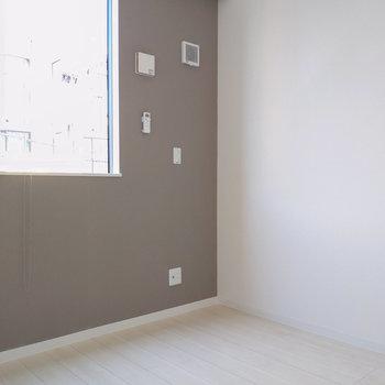 シンプルな形で家具の配置もしやすいですよ。
