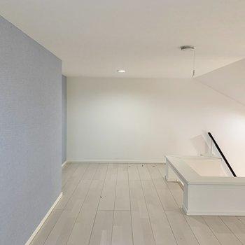 スペースに広さがありますよ※写真は2階の反転間取り別部屋のものです