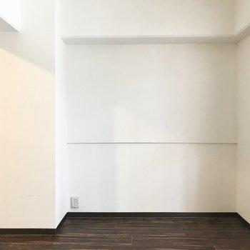 この空間には何を置こうかな〜?ベッドかな〜?