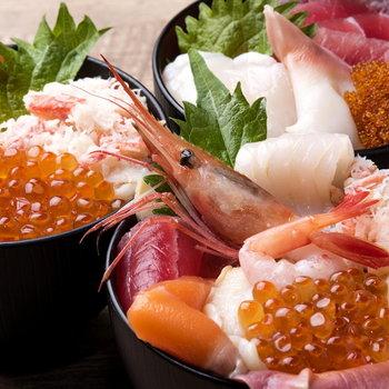 札幌といえば海の幸ですよね、、※写真はイメージです。