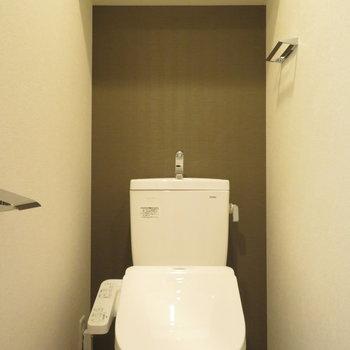 トイレには温水洗浄便座が