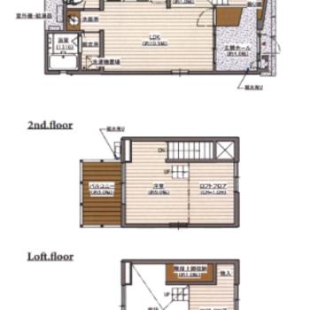 2階はロフトがありますよ。