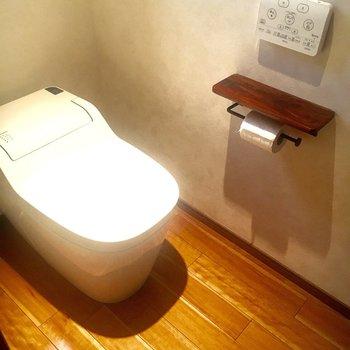トイレまでも落ち着いた雰囲気。