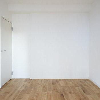 白い壁には家族写真を飾ろうかな〜。(※写真は完成イメージです)