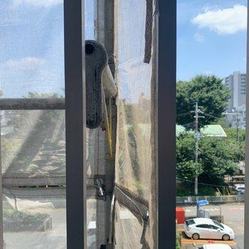 【眺望】玄関側洋室の眺望