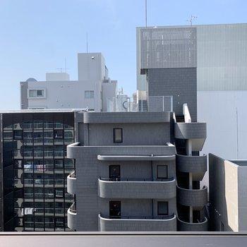 高層階ならではの眺望。