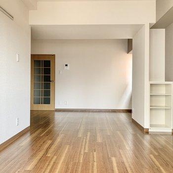 【LDK】家具は大きめでも余裕を持てそう。