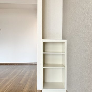 【LDK】こちらは本棚に。