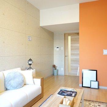 色と柄のある暮らしがカンタンに始められる新築のお部屋!(※写真は4階の同間取り別部屋のものです)