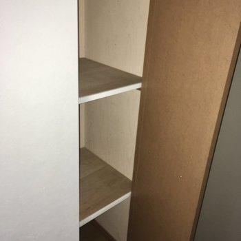 こっちには丈の長い靴を。(※写真は3階の同間取り別部屋のものです)
