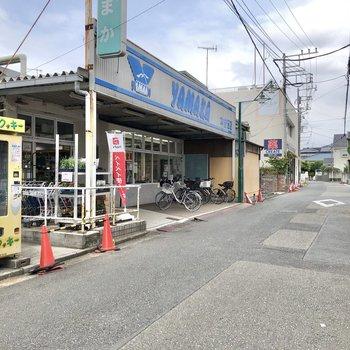 スーパーやドラッグストア、湘南クッキーの自販機もありますよ。