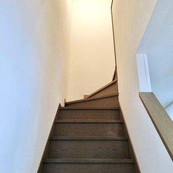 お次は2階へ行ってみましょう。