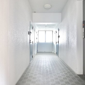 お部屋はエレベーターを降りてすぐ近く。