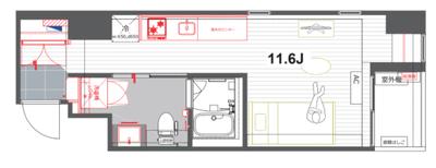 ニューシティーアパートメンツ新川Ⅱ【TOMOS】の間取り