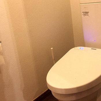 トイレは清潔感があって綺麗です!