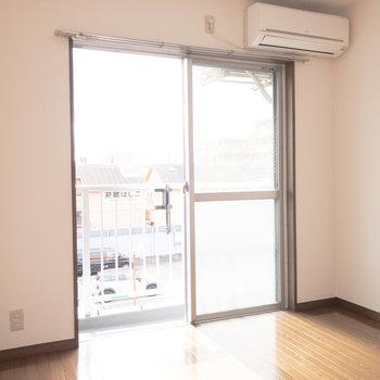 日当たりが良い1Kのお部屋。
