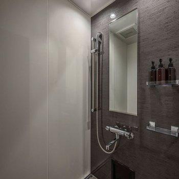 お風呂はシャワーのみの設置です。