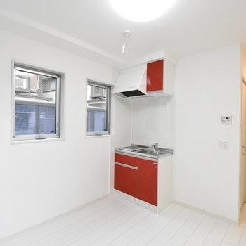 キッチンはプチトマト