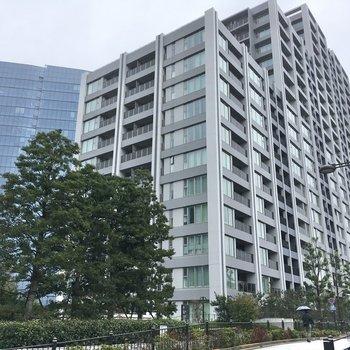 大崎駅徒歩約8分のタワーマンション。