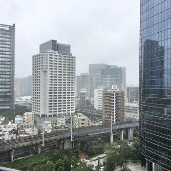 大崎方面の都会的な眺望をお楽しみ頂けますよ。