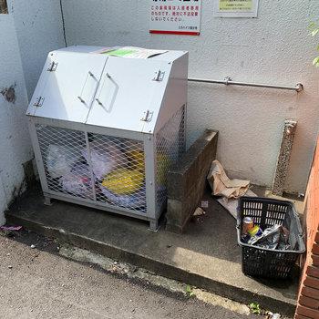 ゴミステーションあります