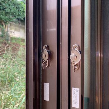 防犯面を考慮した2重窓