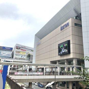 立川の駅前は大きな商業複合施設や……。
