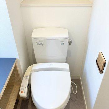 トイレもここにまとっています。