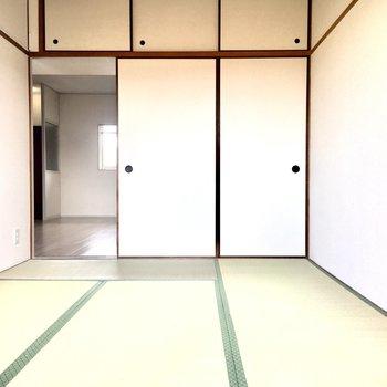 和室】畳の香りが懐かしくて癒やされます。