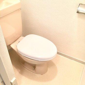 トイレは少しレトロ感。