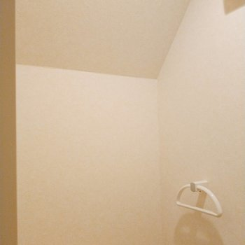 天井がこんなふうに高いので、開放感があります。