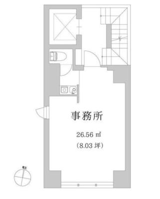 GranDuo渋谷Bldg(グランデュオシブヤビルディング) の間取り図