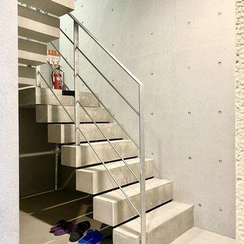 階段でも移動できますよ。