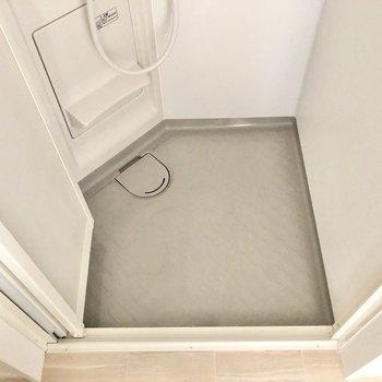 掃除がしやすいサイズ。※写真は3階の同間取り別部屋のものです