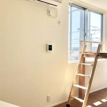 さっそくロフトを見ていきましょう。※写真は3階の同間取り別部屋のものです