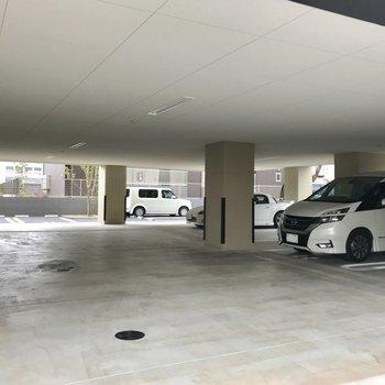 駐車場もありますよ